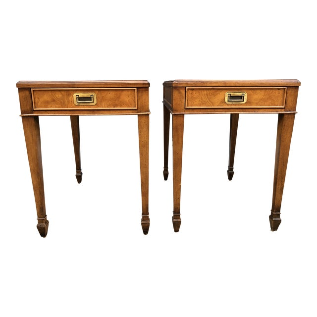 Century Vintage Nightstands - A Pair - Image 1 of 9