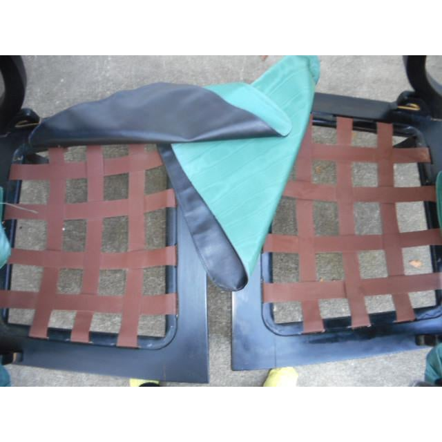 James Mont Style Asian Lounge Chairs - A Pair - Image 8 of 11