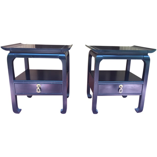 Midcentury Kent Coffey Amerasia Nightstands - Pair - Image 1 of 5