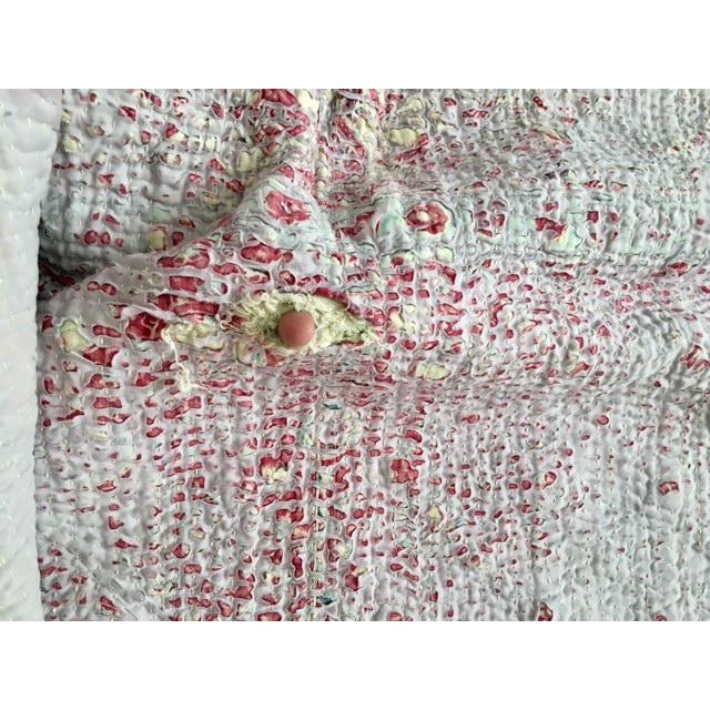 Vintage Handmade Ralli Quilt - Image 9 of 11