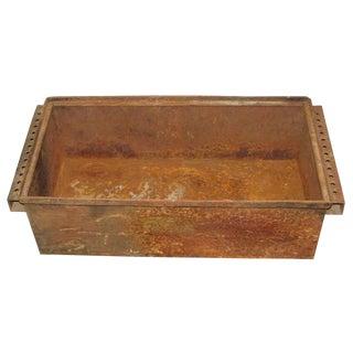 Vintage Industrial Metal Parts Bin