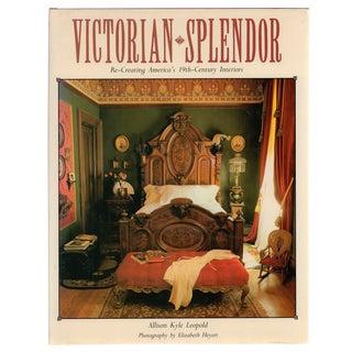 """Victorian Splendor"" First Edition Book 1986"