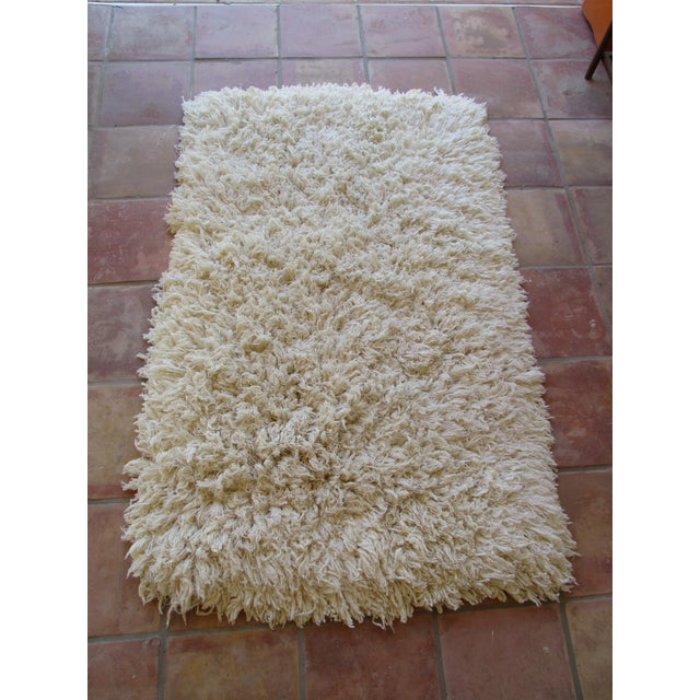 Moroccan Boho Cotton Flokati Shag Rug - 3' X 5'
