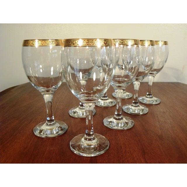 Vintage Hand Blown Glasses - Set of 8 - Image 3 of 7