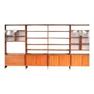 "Extra Large ""RY100"" System Cabinet by Hans J. Wegner for Ry Mobler, Denmark"