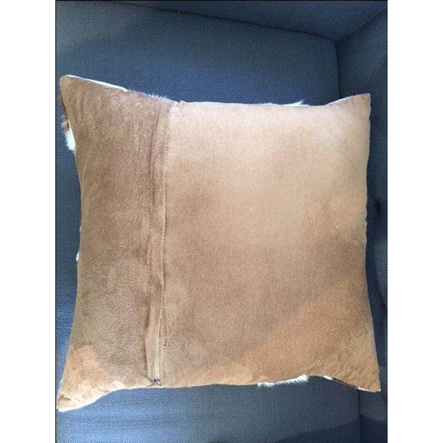 Nourison Cowhide Pillows - A Pair - Image 6 of 7