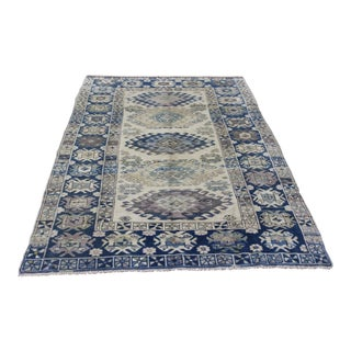 Oriental Turkish Yayla Rug - 4.3' x 6.4'