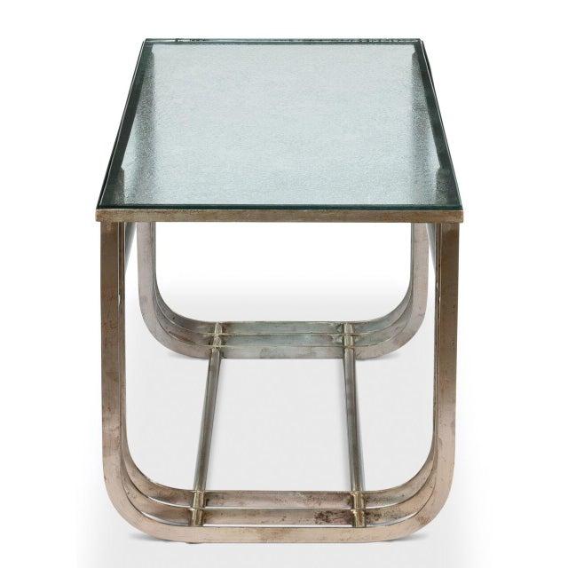 Sarreid LTD Donald Deskey Style Table - Image 7 of 9