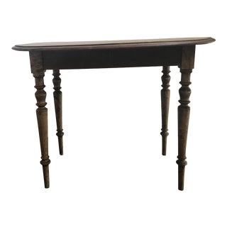 Double Drop Leaf Antique Pine Table