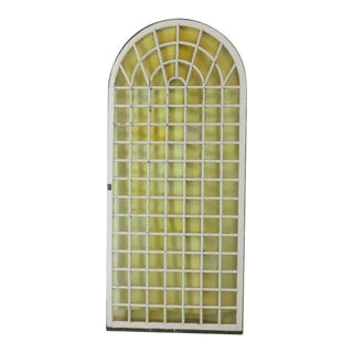 1890s Huge Garden Conservatory Arched Window