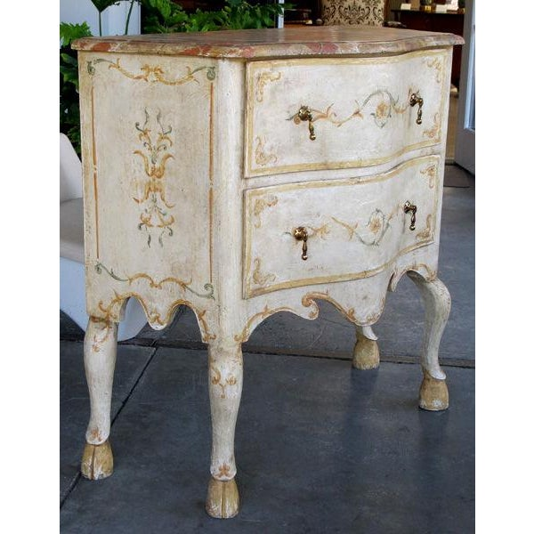 A Curvaceous Pair of Portuguese Rococo Style 2-Drawer Commodes - Image 2 of 6