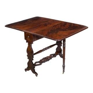 Mahogany Sunderland Table