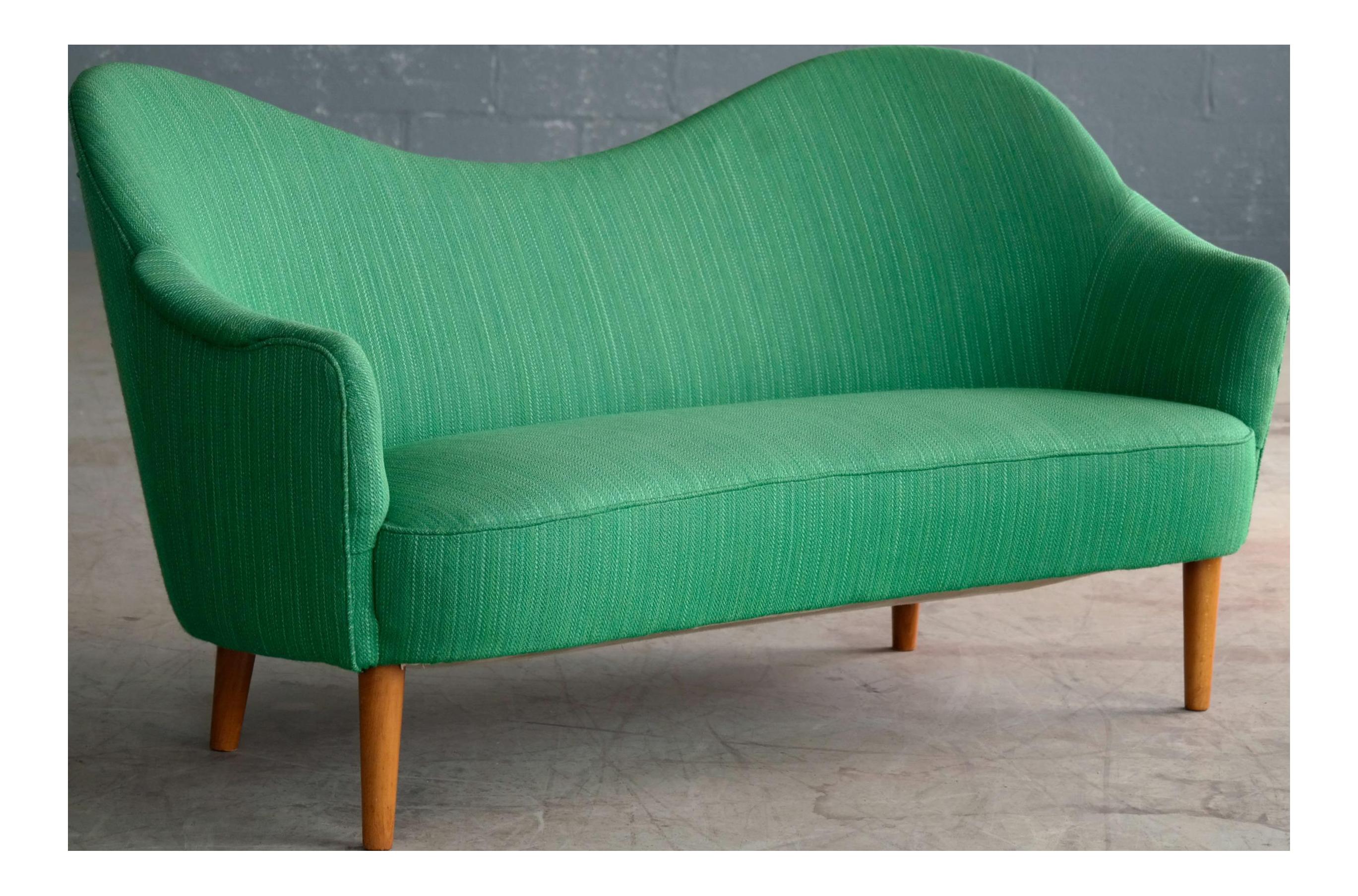 carl malmsten 1950s sofa model samspel for oh sjogren - Mid Century Modern Decor