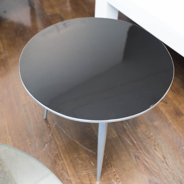 Mid century modern lacquered side table chairish for 0co om cca 9 source table