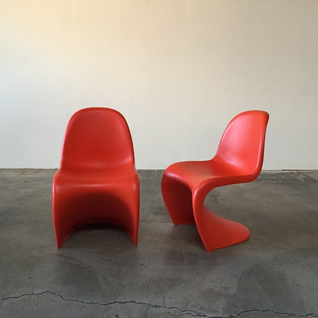 Vitra Red 'Panton' Dining Chair - Image 2 of 4