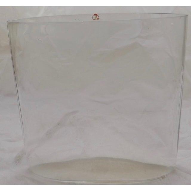 Signed Tapio Wirkkala Glass Vase From Finland - Image 5 of 8