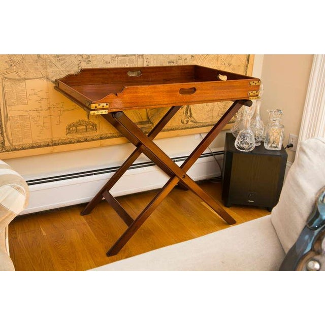 Antique Butler's Tray Table - Image 4 of 10
