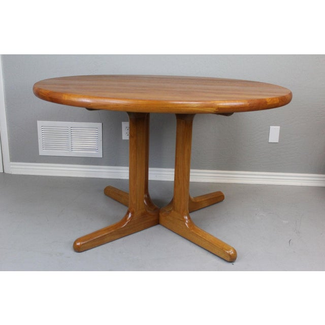 Image of Danish Modern Teak Table Set