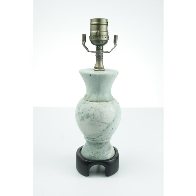 Image of Green Chinese Lamp