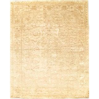 Pasargad N Y Fine Tabriz Design Silk & Wool Rug - 8′ × 9′10″