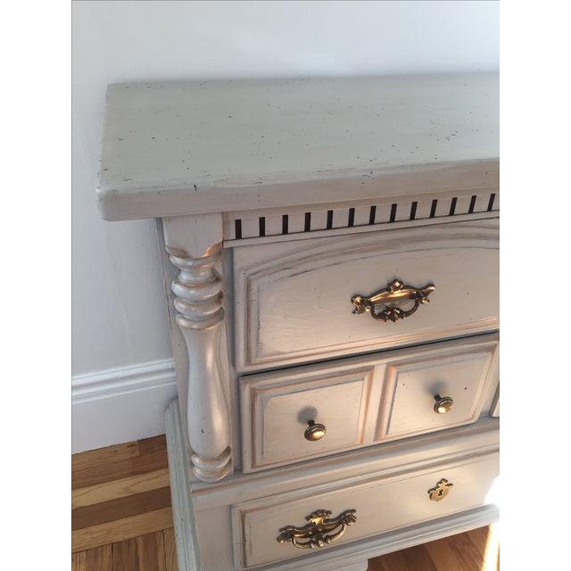 Light Gray Distressed Dresser Chairish