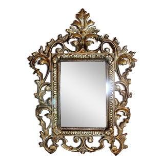 Solid Brass Petite Mirror