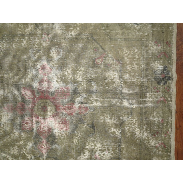 Shabby Chic Turkish Rug - 4'4'' X 7'1'' - Image 5 of 6