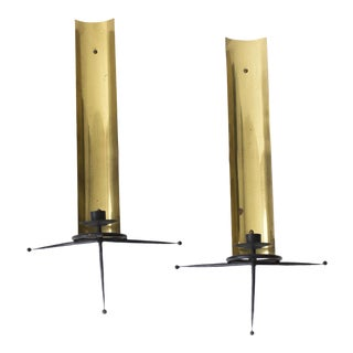 Tony Paul Wall Candle Sconces - A Pair