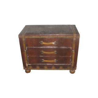 Asian Campaign Style Cabinet