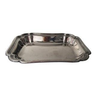 Georgian Silverplate Serving Bowl