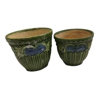 Ceramic Planters - A Pair