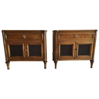Henredon French-Style Nightstands - A Pair
