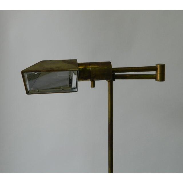 Adjustable Brass Floor Lamp - Image 5 of 5