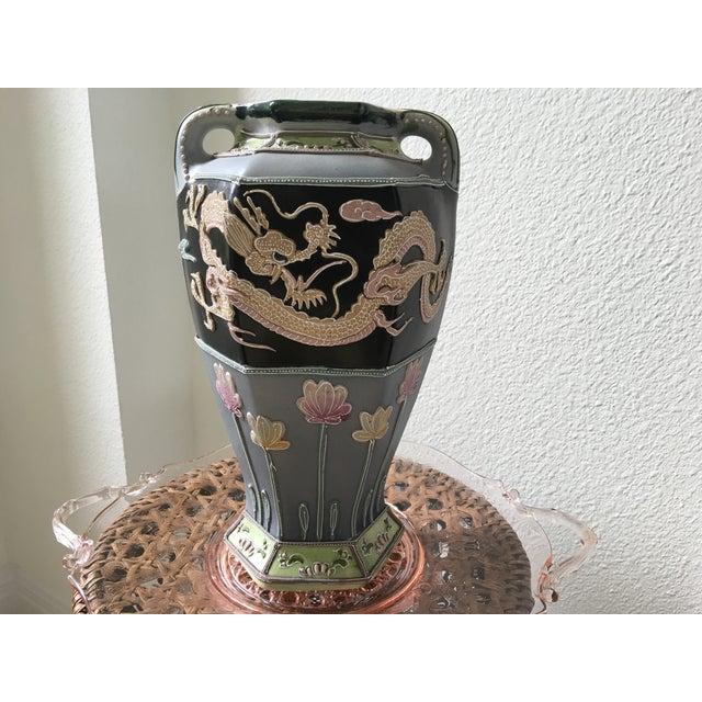 1950s Dragon Urn Vase - Image 8 of 10