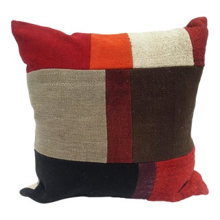 Turkish Patchwork Pillow Cover
