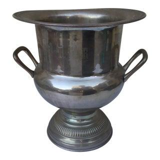 Vintage Metal Champagne Ice Bucket
