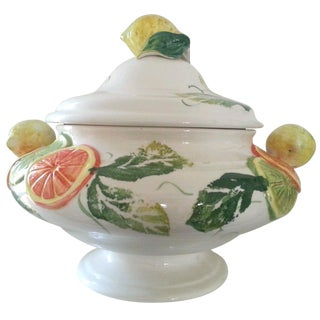 Italian Citrus Covered Tureen