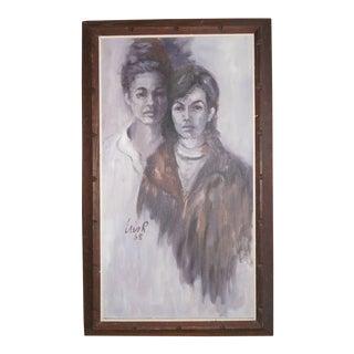 1965 Portrait of Two Women