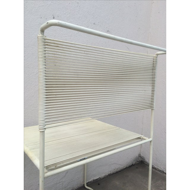Mid-Century Fly Line Spaghetti Chairs - Set of 4 - Image 4 of 6