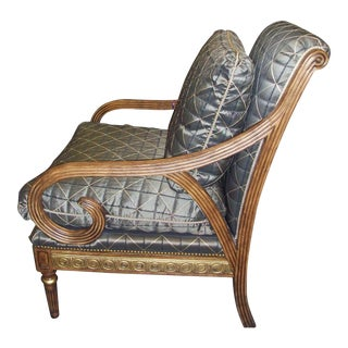 Hollywood Regency Arm Chair by Swaim