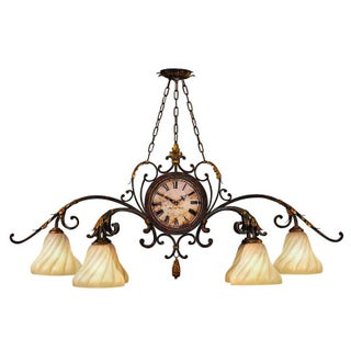 Fine Art Lamps Antiqued Iron Chandelier