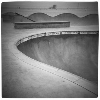 """Skate Park"" Black & White Photograph"