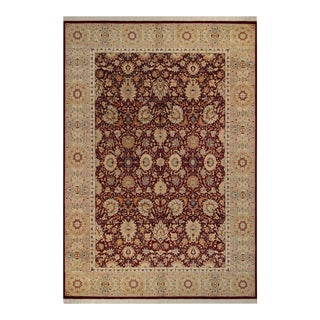Lahore Pak-Persian Abigail Red & Tan Wool Rug - 10'0 X 14'8