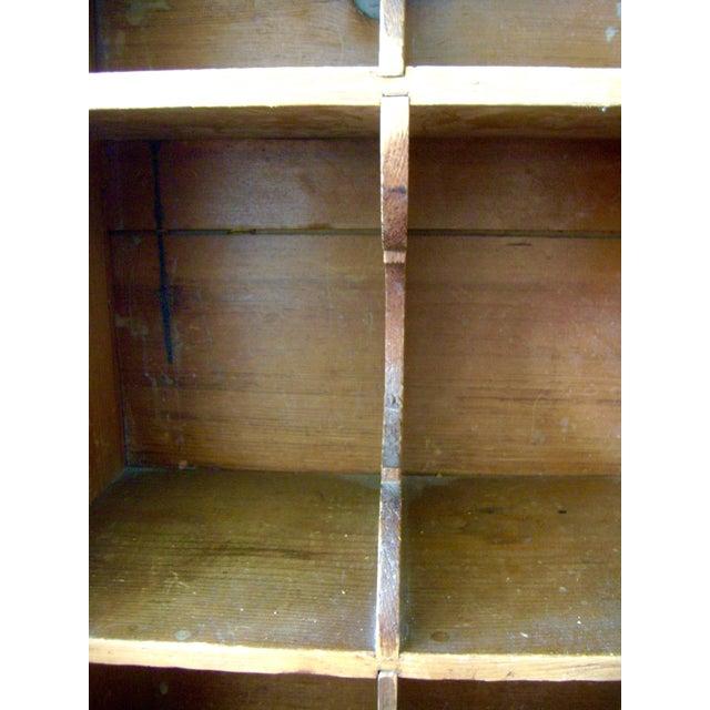 Antique Handmade Pine Hanging Cabinet - Image 5 of 9