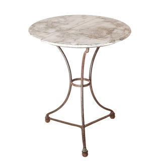 Small Marble Bistro Table