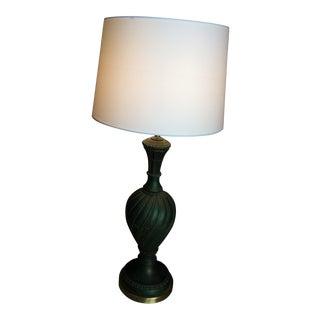 Vintage Mid-Century Modern Pieri Lamp Green