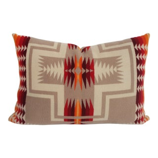 Beautiful Pendleton Pillow With Great Pattern and Color