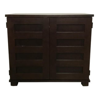 Crate & Barrel Modern Office Cabinet