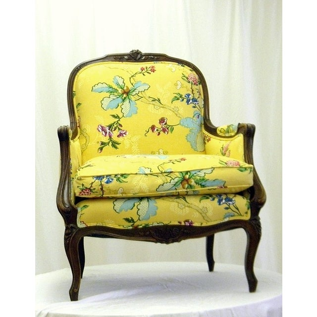 Yellow Lady's Chair With Down Cushion - Image 2 of 7