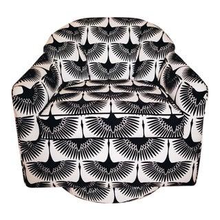 Plinth Base Swivel Chair